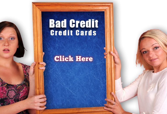 Credit Card and People with really Bad Credit